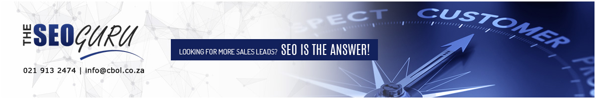 The SEO Guru Front Page Ad