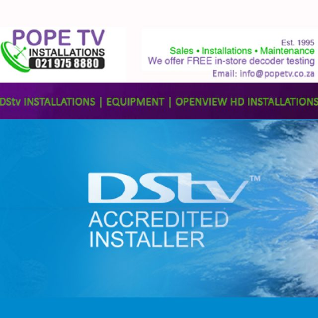 Pope TV Installations
